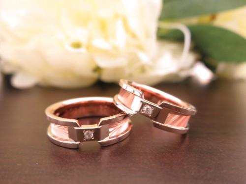 お客様の結婚指輪 IMG_7139