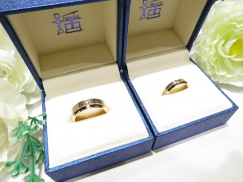 輪ファミリーの結婚指輪 IMG_7327