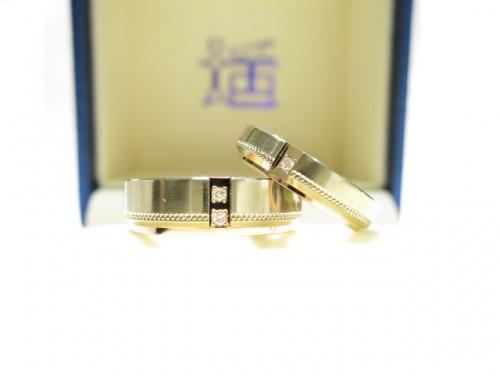 輪ファミリーの結婚指輪 IMG_7328