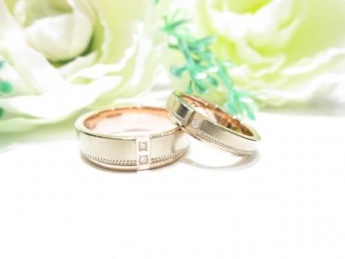 輪ファミリーの結婚指輪 IMG_7329