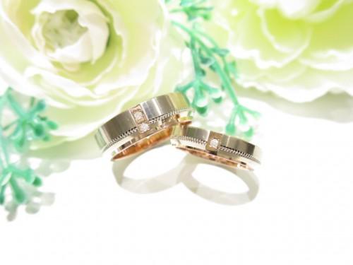輪ファミリーの結婚指輪|IMG_7330