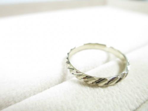 お客様の結婚指輪 修理品|IMG_7881