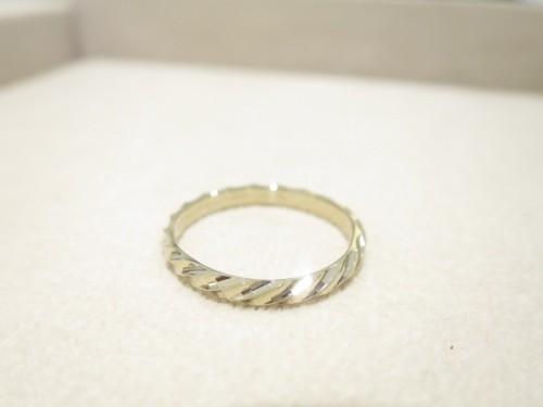 お客様の結婚指輪 修理品|IMG_7884