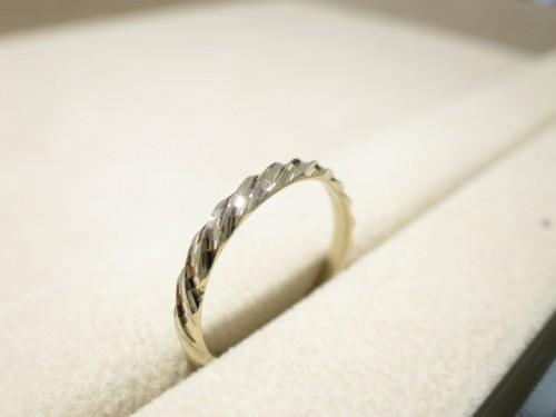 お客様の結婚指輪 修理品|IMG_7885