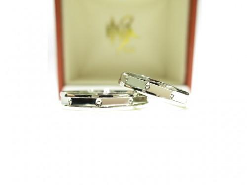 輪ファミリーの結婚指輪|IMG_7907