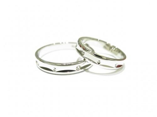 輪ファミリーの結婚指輪|IMG_7911