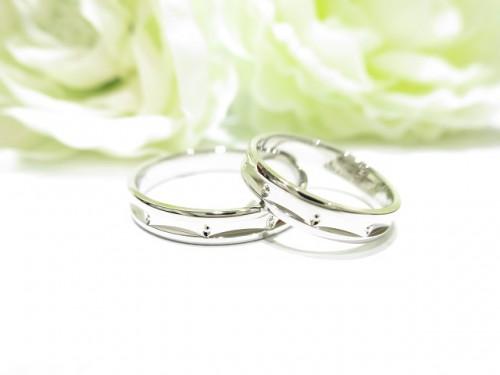 輪ファミリーの結婚指輪|IMG_7914