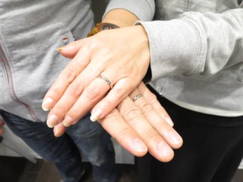 輪ファミリーの結婚指輪|IMG_8919
