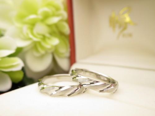 お客様の結婚指輪|IMG_9321