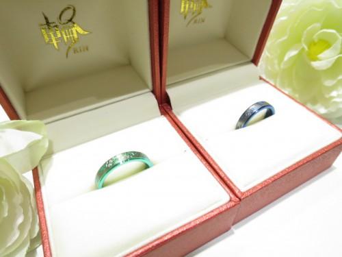 輪ファミリーの結婚指輪|IMG_9638