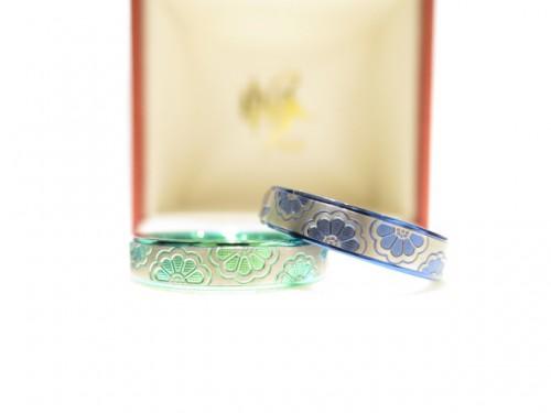 輪ファミリーの結婚指輪|IMG_9639
