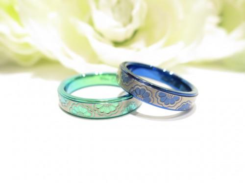 輪ファミリーの結婚指輪|IMG_9641