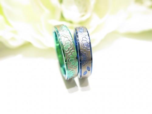 輪ファミリーの結婚指輪|IMG_9642