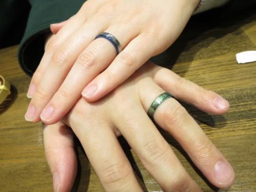 輪ファミリーの結婚指輪|IMG_9643