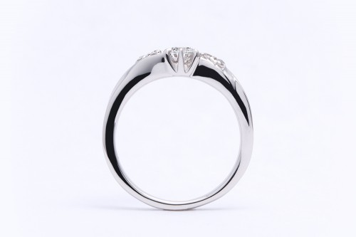 婚約指輪 WLD-12(横前)
