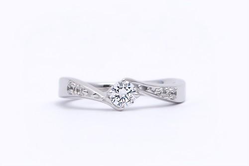 婚約指輪|WLD-14(正面)