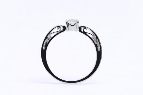 婚約指輪|WLD-22(横)