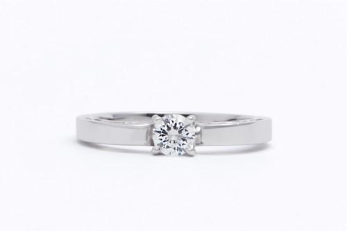 婚約指輪|WLD-22(正面)