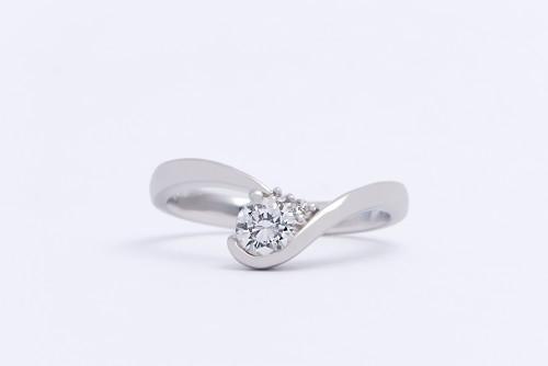婚約指輪|WLD-38(正面)