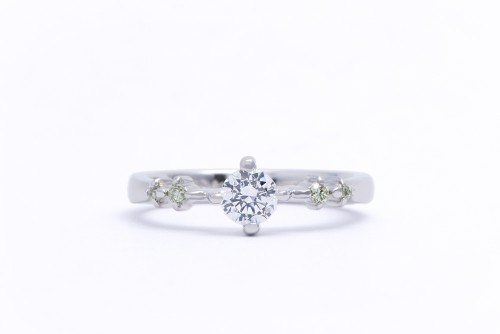 婚約指輪|WLD-66(正面)