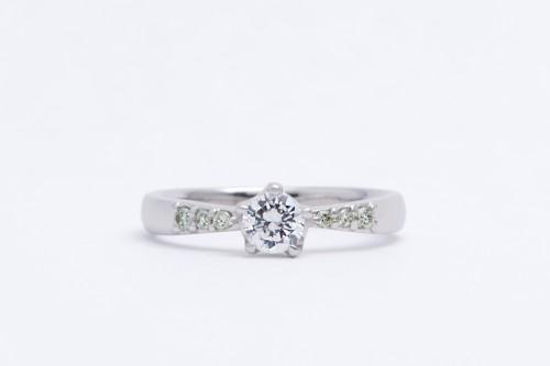 婚約指輪|WLD-70(正面)