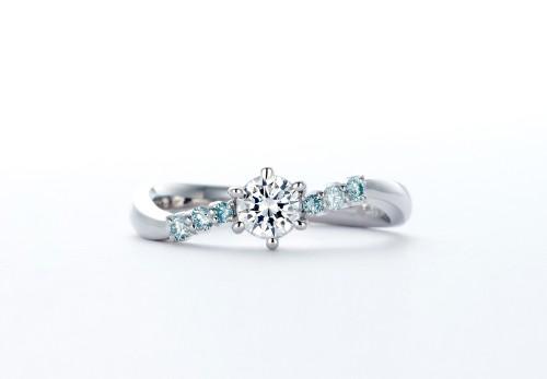 婚約指輪|WLD-74(正面2)