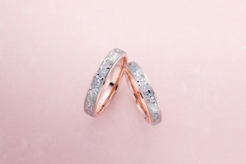 結婚指輪 桜子ペア