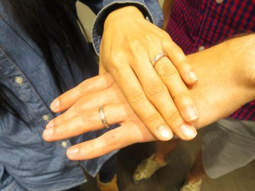 輪ファミリーの結婚指輪|IMG_2309