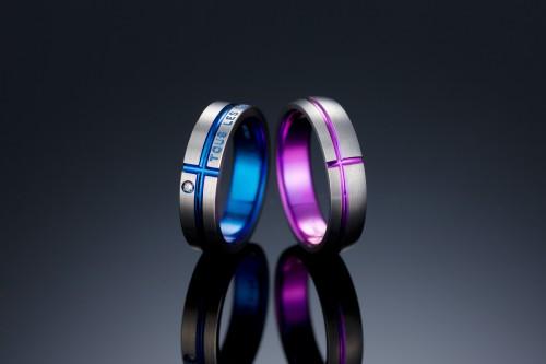 輪高崎工房の結婚指輪|クロス.1