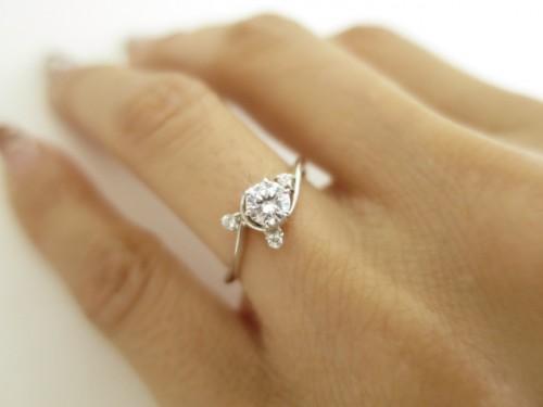 高崎工房の婚約指輪|IMG_2763