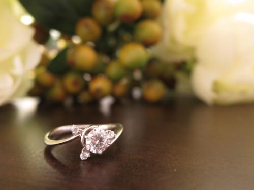 高崎工房の婚約指輪|IMG_2766