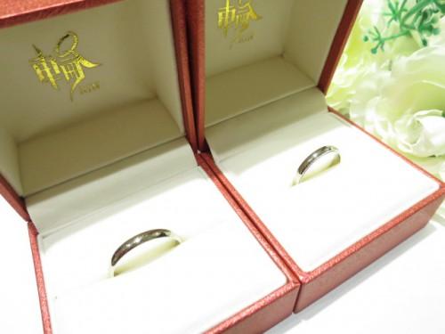 輪ファミリーの結婚指輪|IMG_3661
