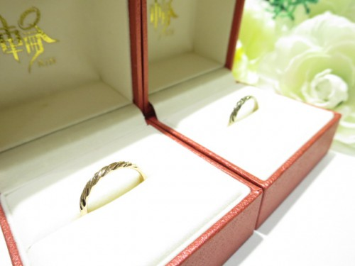 輪ファミリーの結婚指輪|IMG_3665