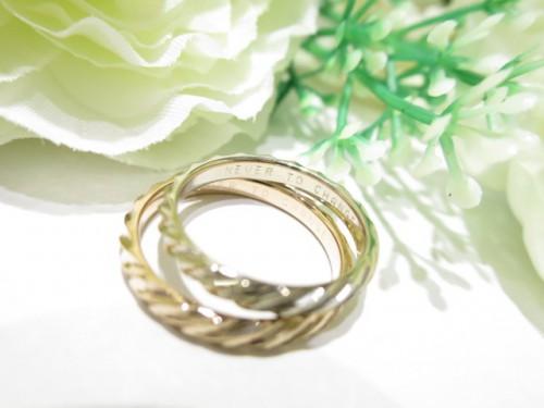 輪ファミリーの結婚指輪|IMG_3668