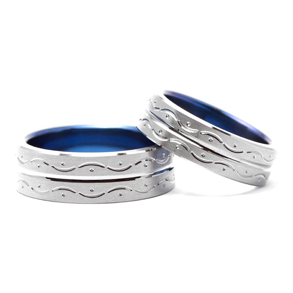 輪高崎工房の結婚指輪|さざ波