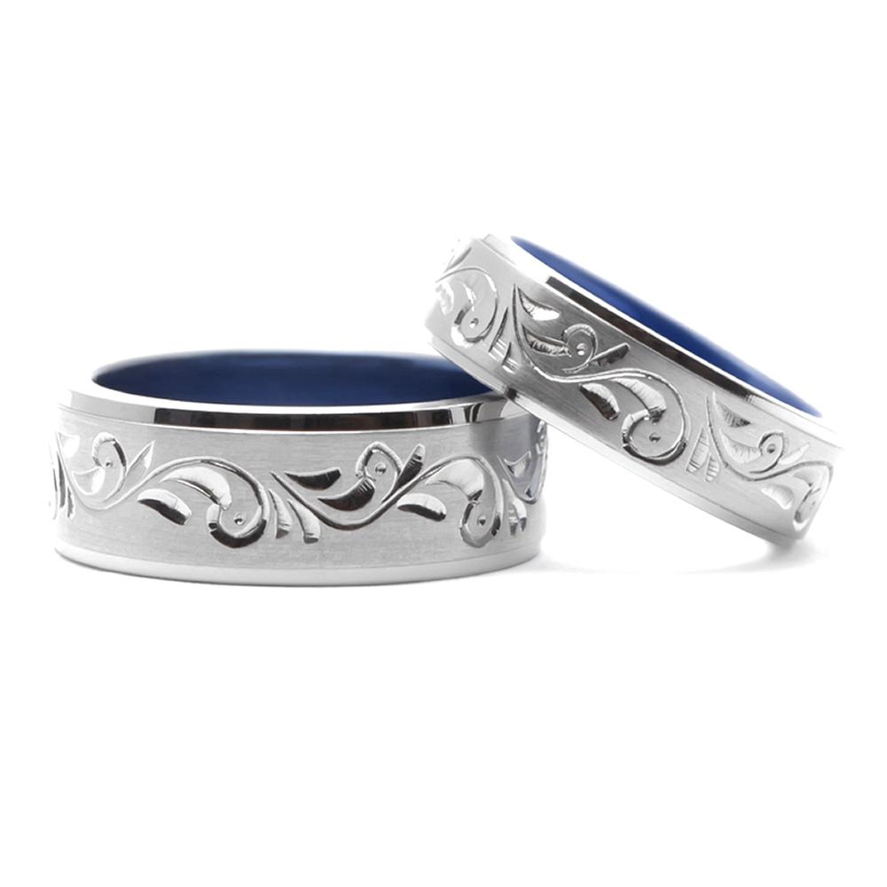 輪高崎工房の結婚指輪|アラベスク