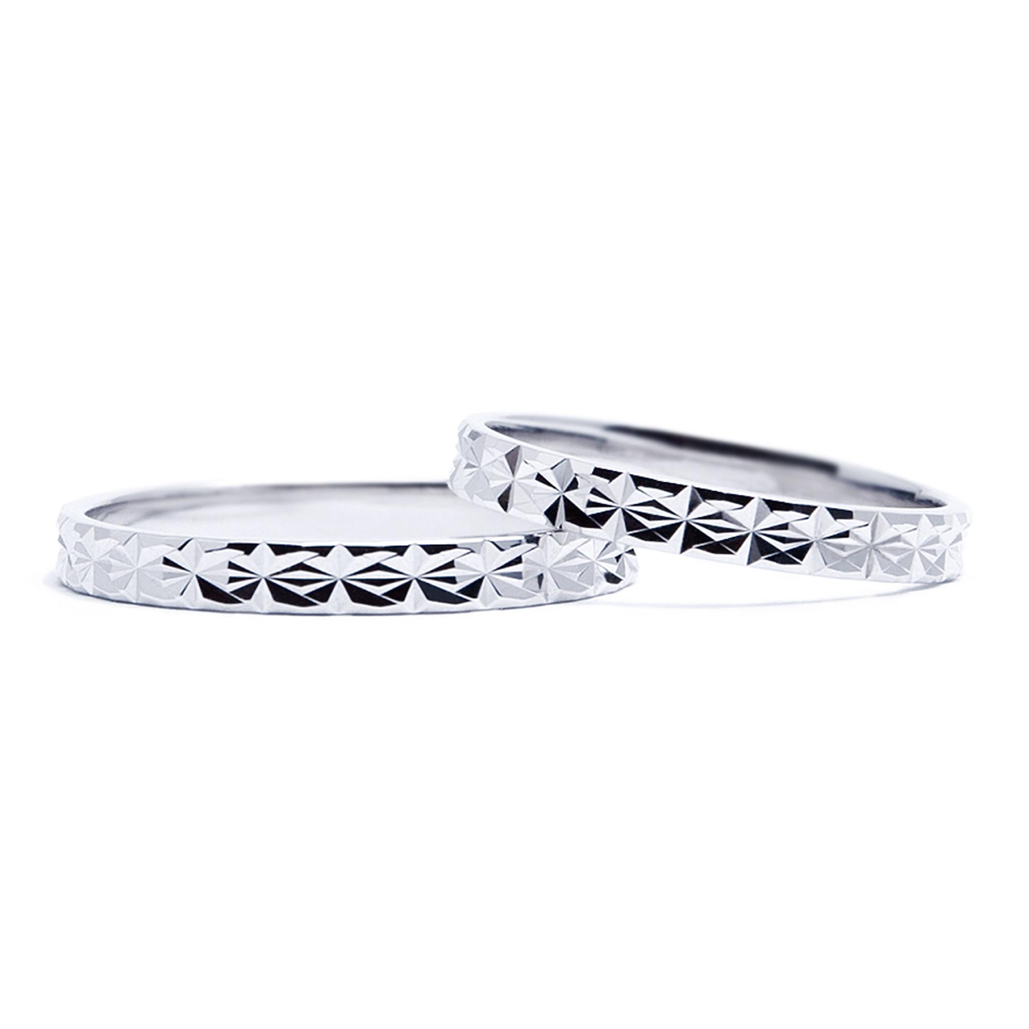 輪高崎工房の結婚指輪|Aisne