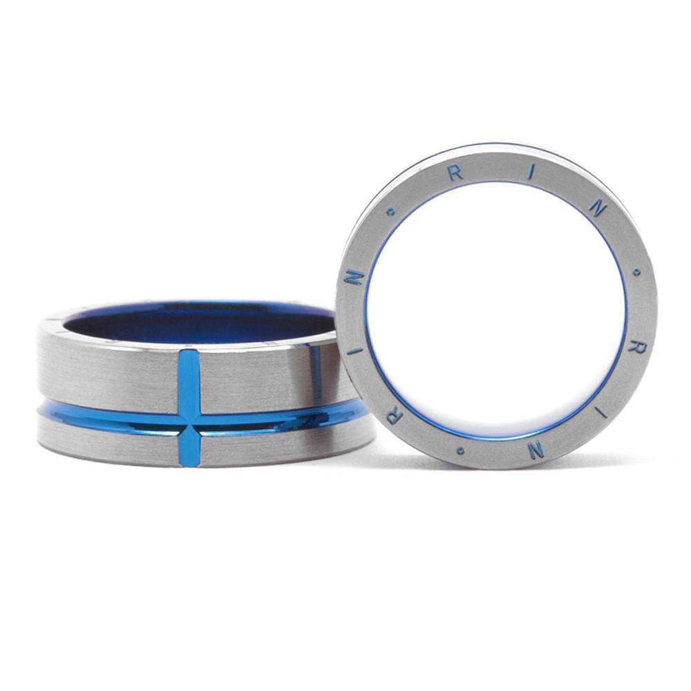 輪高崎工房の結婚指輪|ライン側面文字