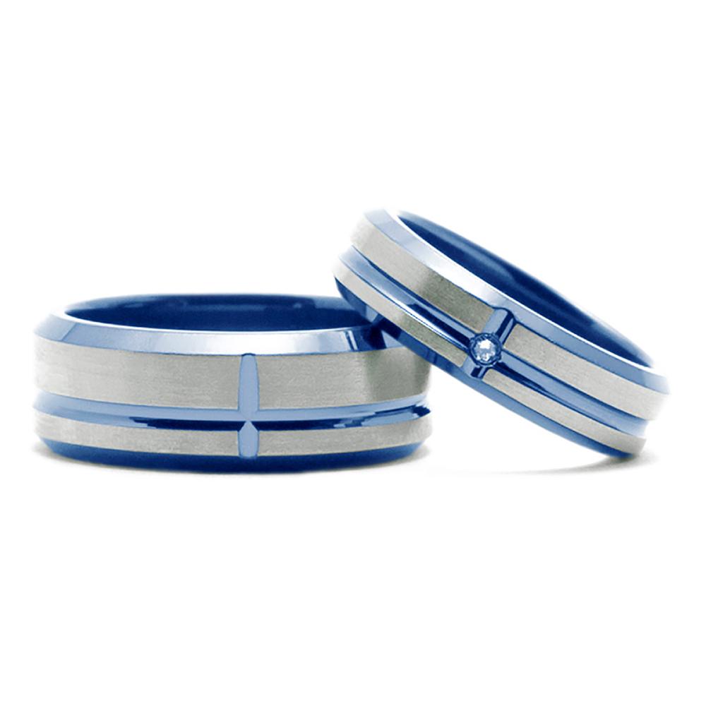 輪高崎工房の結婚指輪|台形ライン