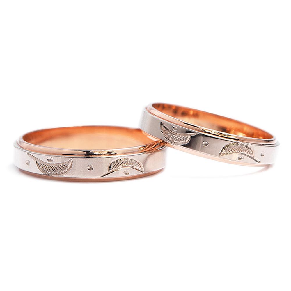 輪高崎工房の結婚指輪|天使の羽