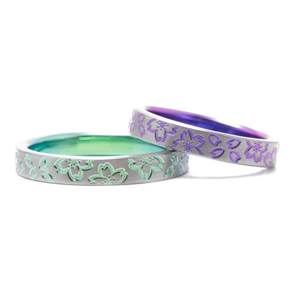 輪高崎工房の結婚指輪|川津桜