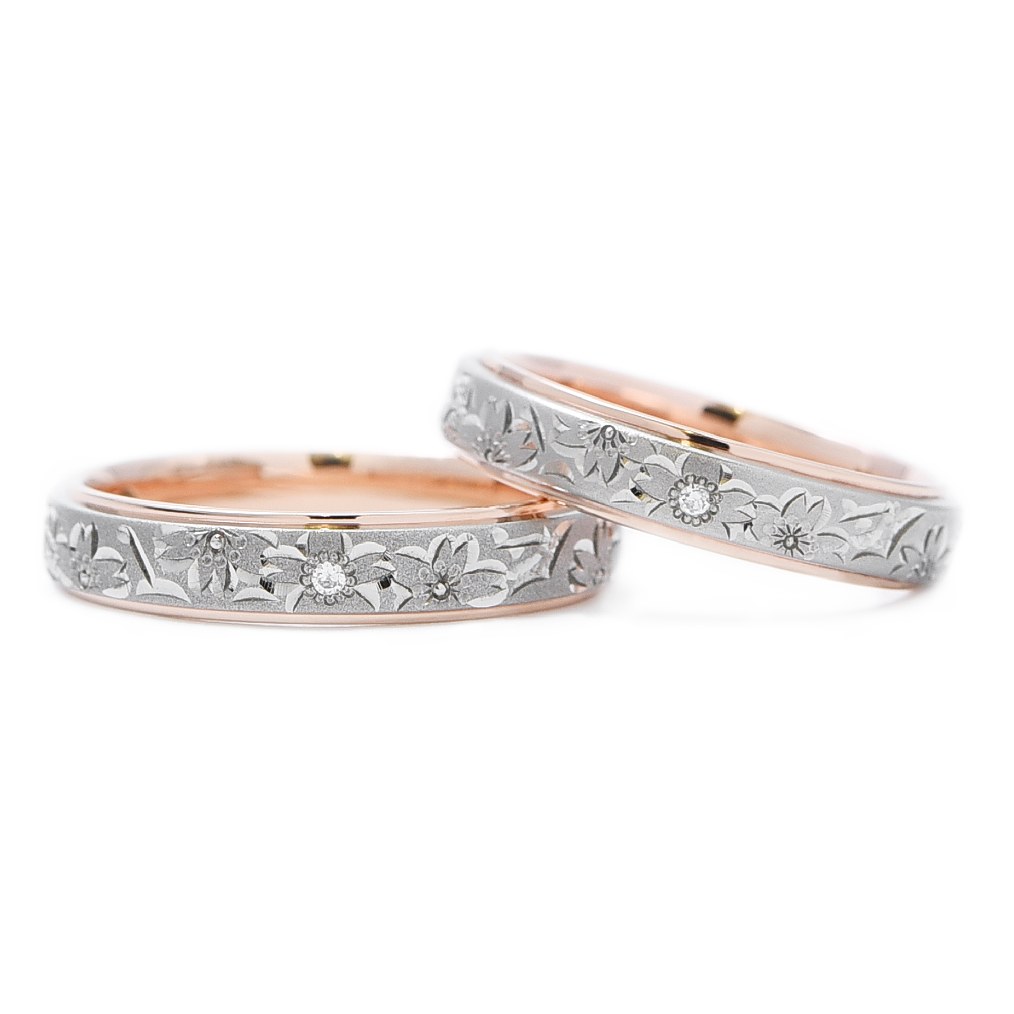 輪高崎工房の結婚指輪|桜子