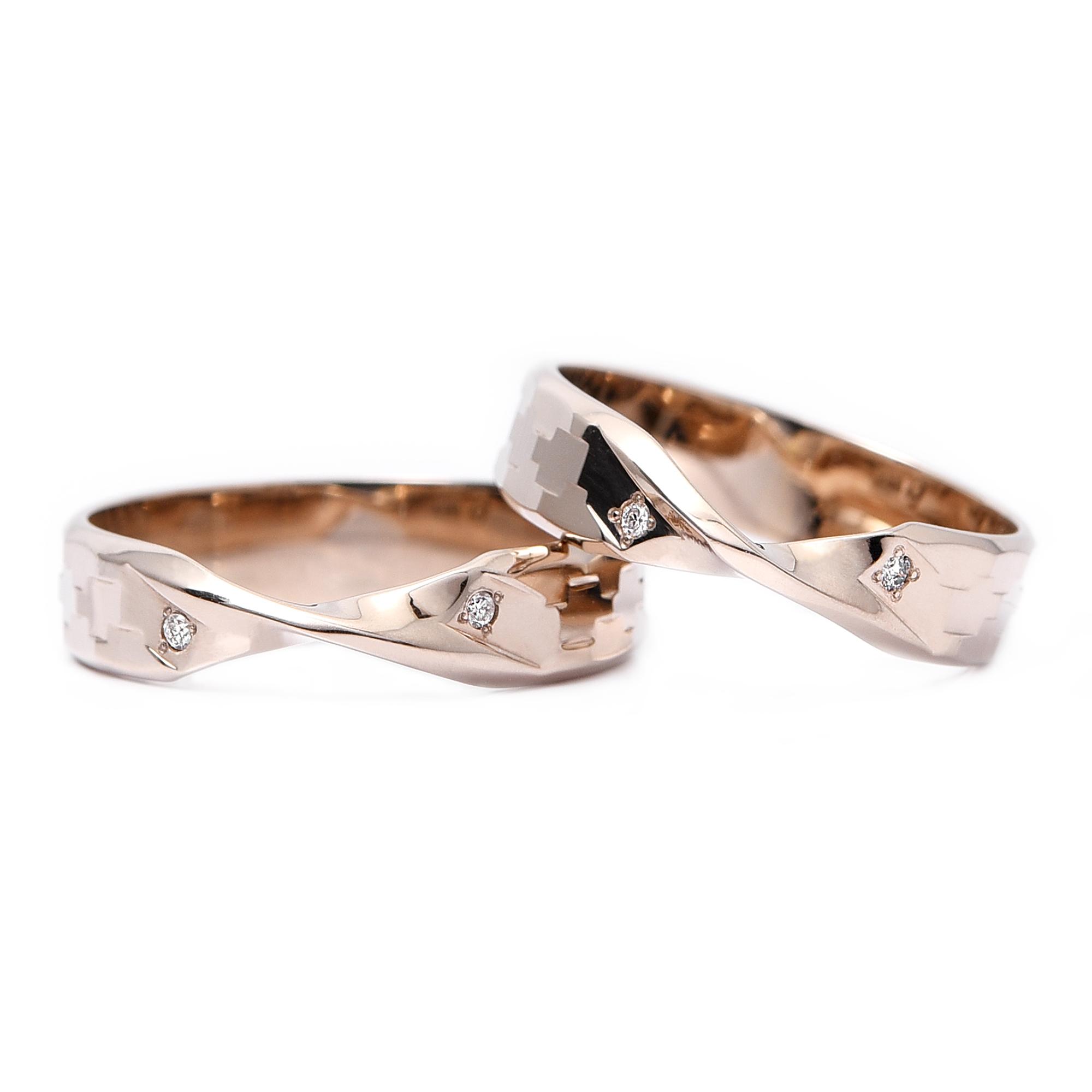 輪高崎工房の結婚指輪|HR-160