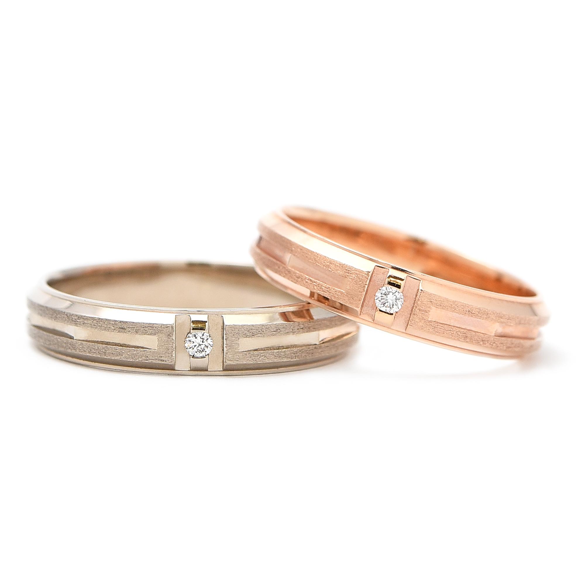 輪高崎工房の結婚指輪|HR-281