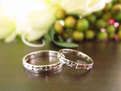 お客様の結婚指輪|IMG_5500