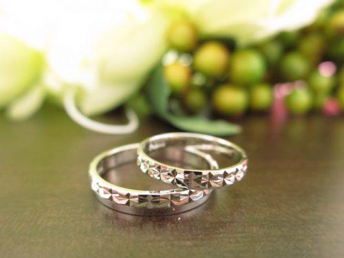 お客様の結婚指輪|IMG_5501