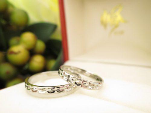 お客様の結婚指輪|IMG_5504