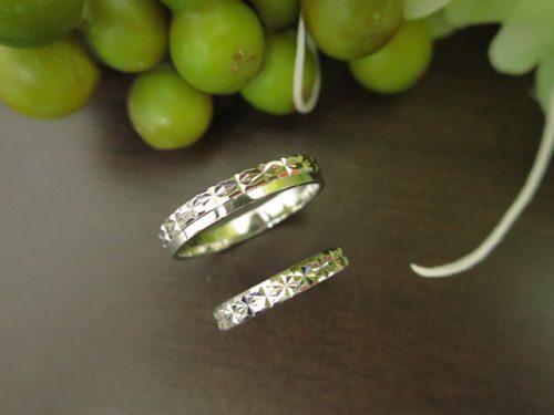 お客様の結婚指輪|IMG_5507