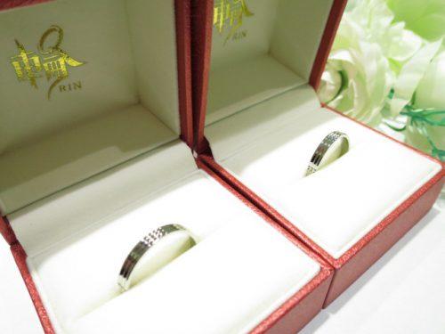 輪ファミリーの結婚指輪 IMG_5546