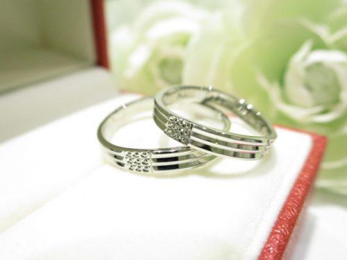 輪ファミリーの結婚指輪 IMG_5548